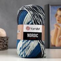 Пряжа 'Nordic' 20 шерсть, 80 акрил 510м/150гр (662)