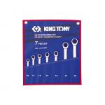 Комплект ключей трещоточных 7 пр. (10-19 мм)