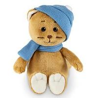 Мягкая игрушка 'Колбаскин в шарфе и шапке', 20 см