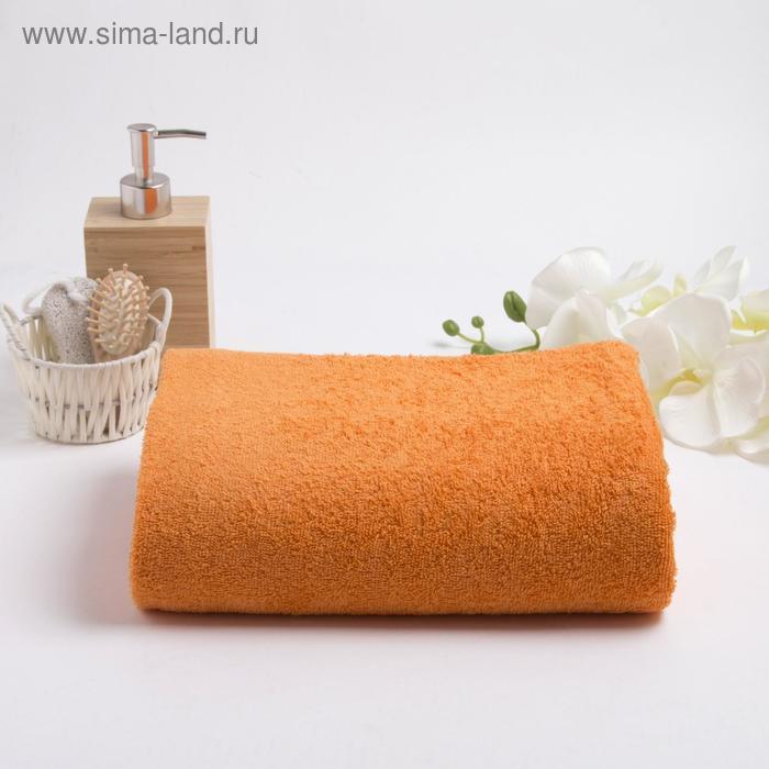 Полотенце махровое гладкокрашеное, размер 100х180 см - фото 1