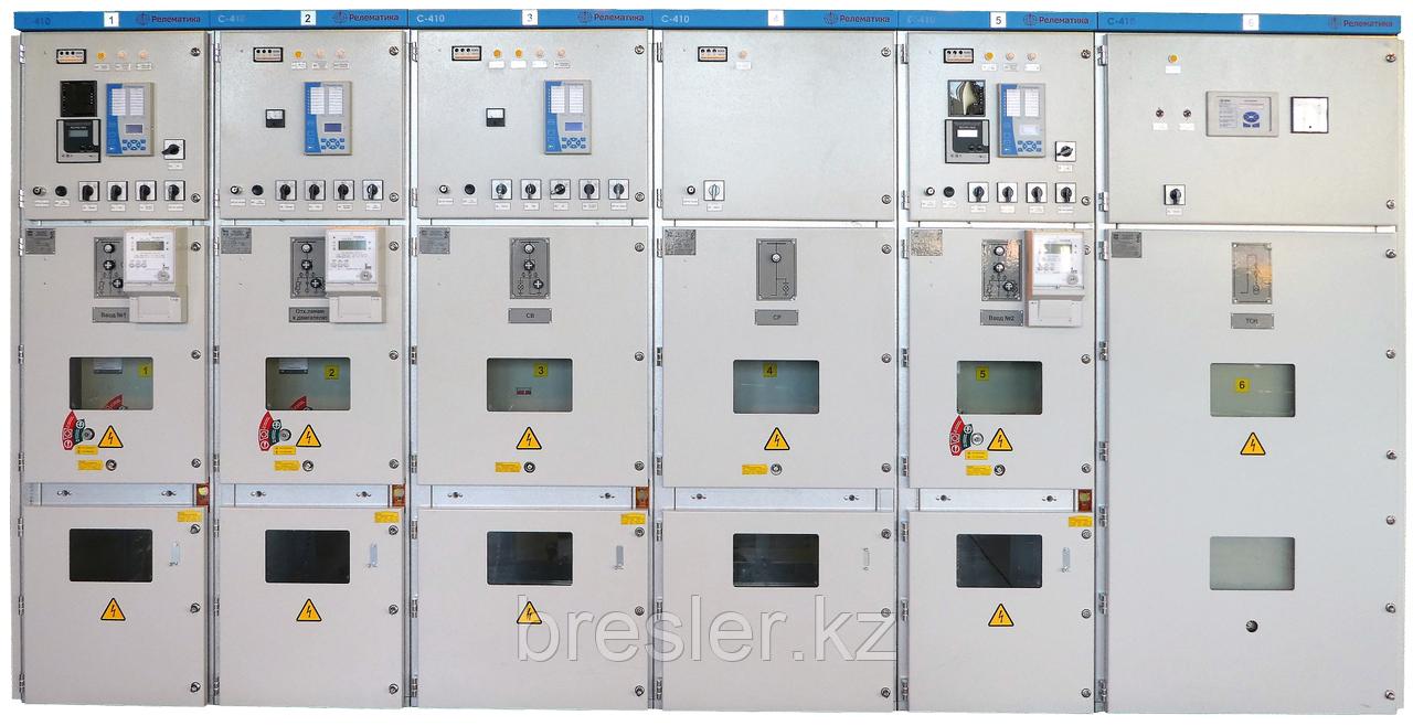 Комплектные распределительные устройства 6(10) кВ «С-410»