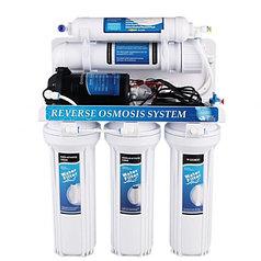 Фильтр hidrotek RO-50G-A02 6-ступенчатая система с насосом