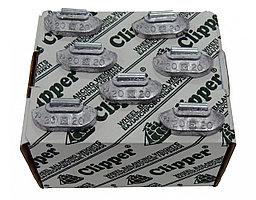 CLIPPER 0220 CLIPPER ГРУЗИК 0220 балансировочный для стального диска 20гр. (набор 100шт.)