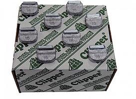 CLIPPER 0215 CLIPPER ГРУЗИК 0215 балансировочный для стального диска 15гр. (набор 100шт.)