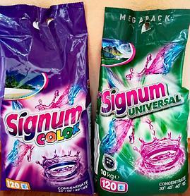 Стиральный порошок Signum Color 10 кг