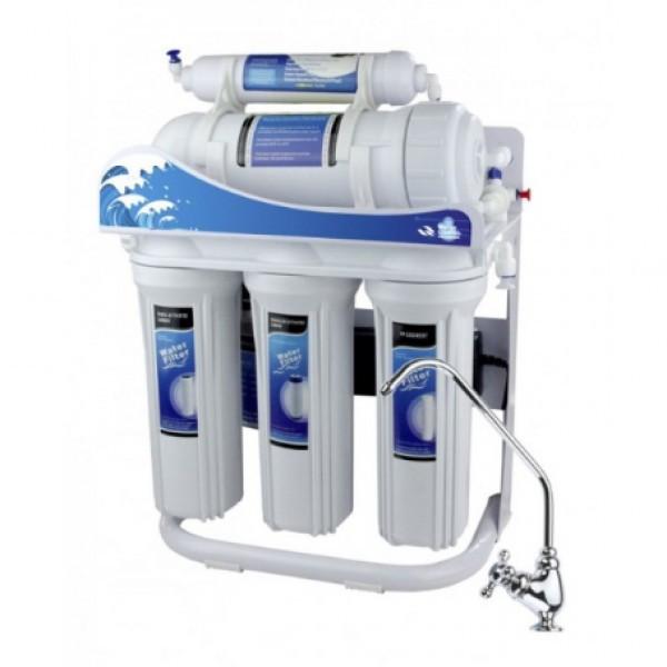 Фильтр для воды aquawater 5-ступенчатый ro-600g-p01