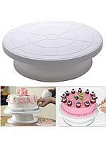 Подставка для торта вращающаяся, 28х28х7 см