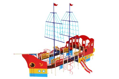 Детский игровой комплекс «Флагман» H=1200, 1500, 2000