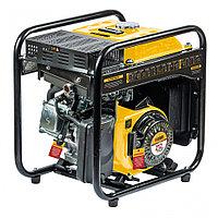 Генератор инверторный GT-3500iF, 3,5 кВт, 230 В, бак 5 л, открытый корпус, ручной старт Denzel 94705