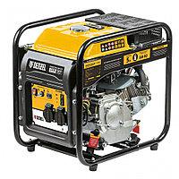 Генератор инверторный GT-2500iF, 2,5 кВт, 230 В, бак 5 л, открытый корпус, ручной старт Denzel 94704