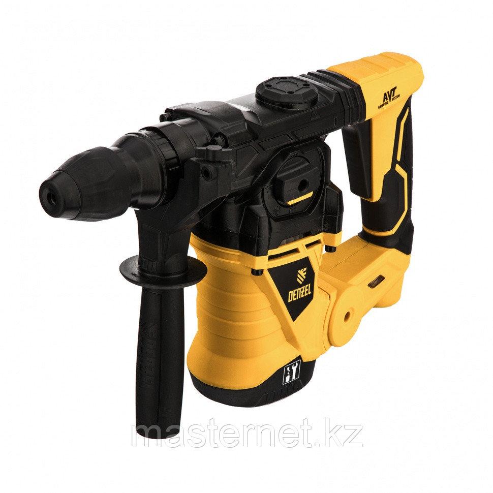 Перфоратор электрический RHV-1250-30, SDS-plus, 1250 Вт, 5 Дж, 3 плюс 1 реж.// Denzel - фото 1
