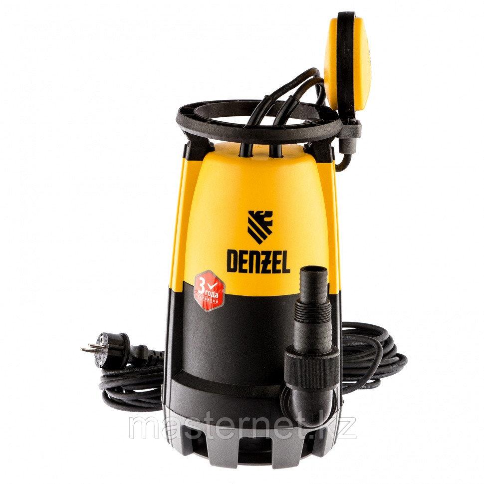 Дренажный насос для чистой и грязной воды DP-450S, 450 Вт, напор 6 м, 12000 л/ч// Denzel - фото 1