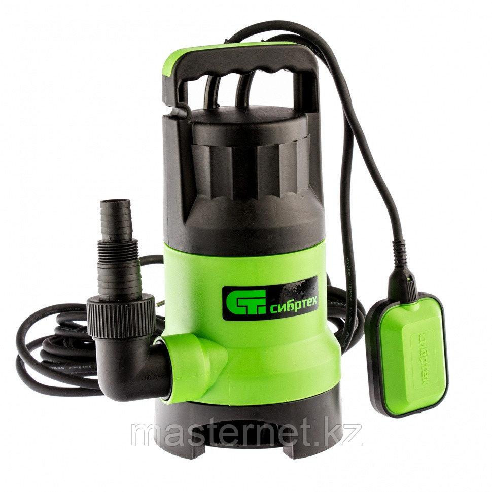 Дренажный насос для грязной воды СДН800-35, 800 Вт, напор 9 м, 13500 л/ч// Сибртех - фото 1