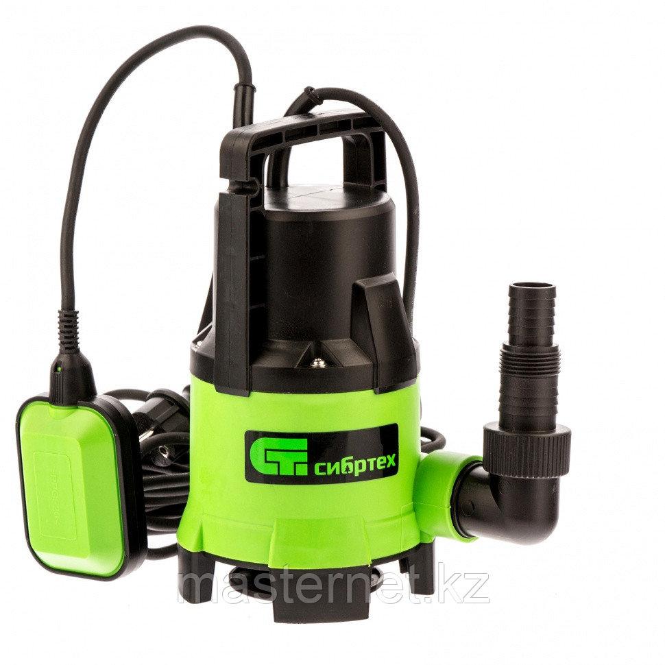 Дренажный насос для грязной воды СДН650-35, 650 Вт, напор 8 м, 11000 л/ч// Сибртех - фото 1