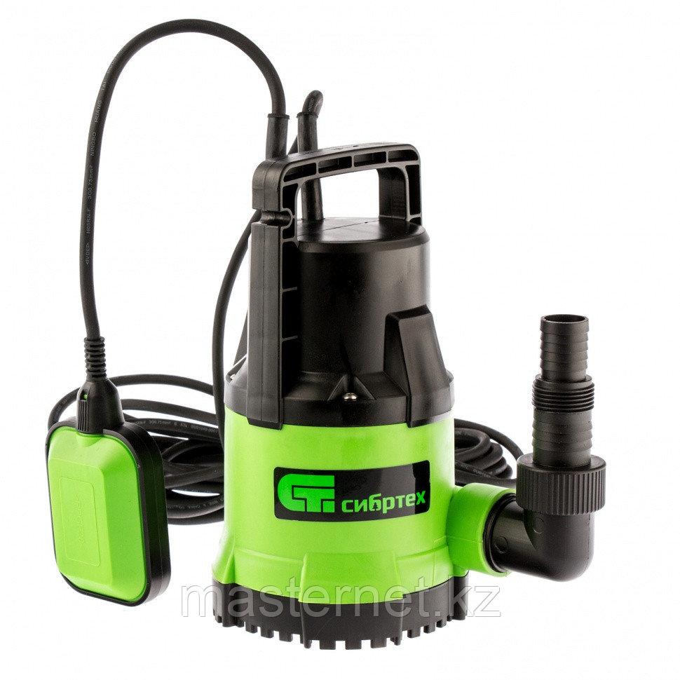 Дренажный насос для чистой воды СДН500-5, 500 Вт, напор 8 м, 8000 л/ч// Сибртех - фото 1