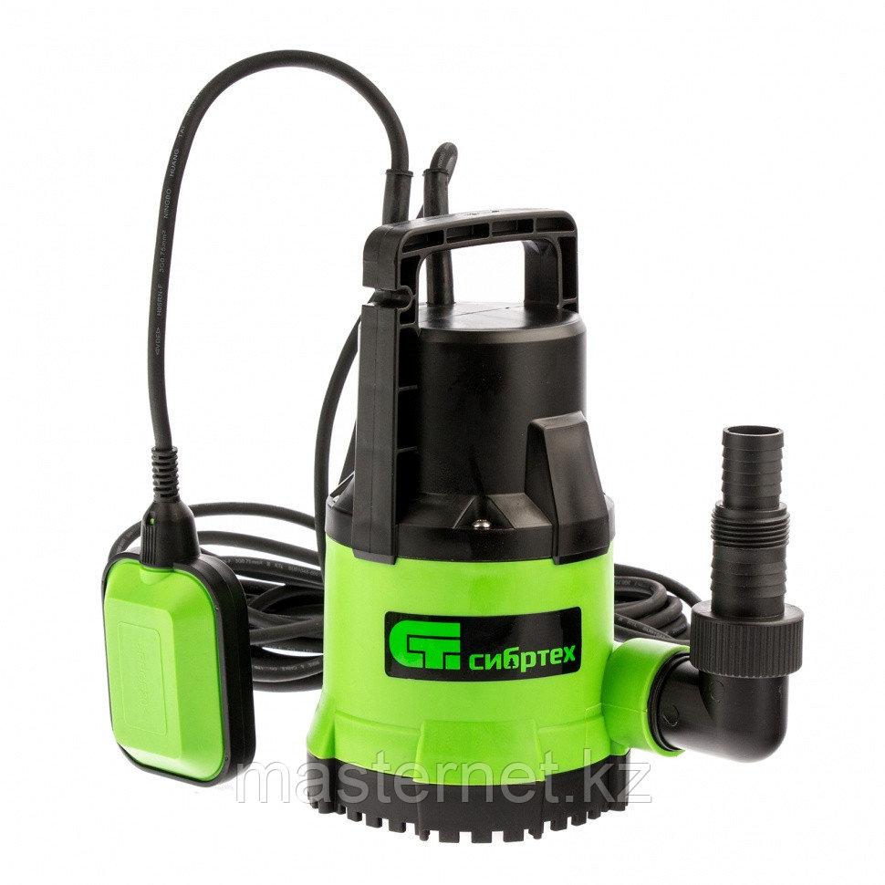 Дренажный насос для чистой воды СДН300-5, 300 Вт, напор 6,5м, 6500 л/ч// Сибртех - фото 1