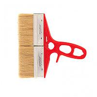 Кисть флейцевая для лаков, 200*12, натуральная щетина, пластиковая ручка Color line// Matrix