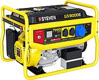 GS-8000Е бензиновый генератор с электростартером, 7000 Вт, STEHER