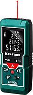 """Дальномер """"LD-100"""" лазерный, дальность 5см - 100м, точность 1,5 мм, KRAFTOOL 34765"""