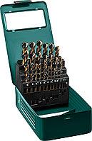 KRAFTOOL COBALT 25шт(1-13мм), Набор сверл по металлу HSS-Co(8%), сталь М42(S2-10-1-8)