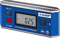 МИНИ уровень-уклономер электронный, IP65, Магнитный, Диапазон 0-90°, Точность ±0,05°, 3 кнопки, HOLD,