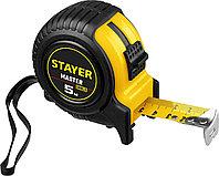 STAYER MASTER 5м / 25мм рулетка в ударостойком обрезиненном корпусе