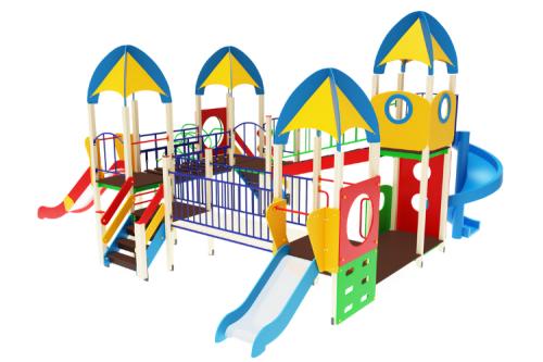 Детский игровой комплекс «Космопорт» H=1200, 1500, 2000