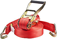 """Ремень STAYER """"PROFESSIONAL"""" для крепления груза, ширина ленты 50мм, нагрузка до 3000кг, длина 12м"""