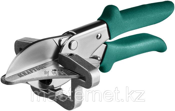 KRAFTOOL MC-7 ножницы угловые для пластмассовых и резиновых профилей