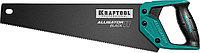 "Ножовка для точного реза ""Alligator BLACK 11"", 400 мм, 11 TPI 3D зуб, KRAFTOOL"