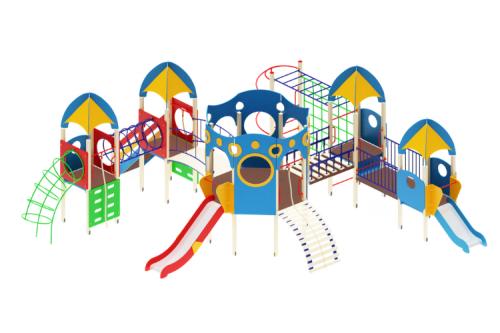 Детский игровой комплекс «Космопорт» H=1200, 750