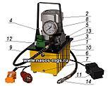 Маслостанция МГС 700-0.8П-Э-1 (220В и 380В) С электрическим управлением, с педалью, фото 2