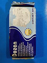 Глина для моделирования самозатвердевающая (белая) , DOZEN, 500 г