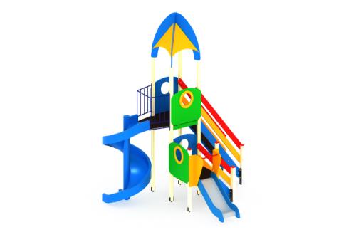 Детский игровой комплекс «Космопорт» H=2000, 750