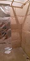 "Финская сауна с парообразователем. Размер = 2,4 х 1,9 х 2,3 м. Адрес: г. Алматы, КГ ""ЭДЕЛЬВЕЙС"" 34"