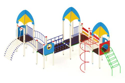 Детский игровой комплекс «Космопорт» H=1200