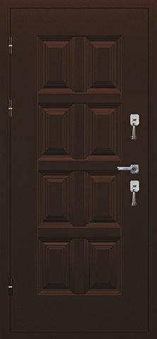 Металлическая дверь ВИНТЕР 2066-880 R/L