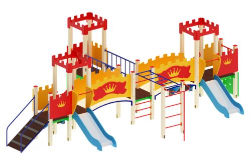 Детский игровой комплекс «Королевство» H=750