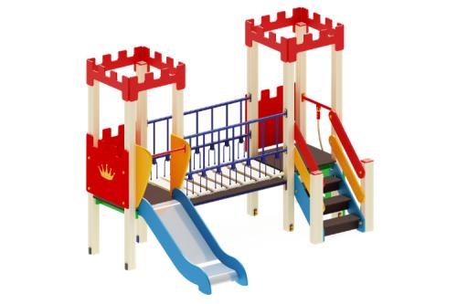 Детский игровой комплекс «Королевство» H=900