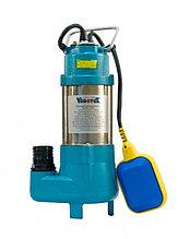 Насос фекальный Vodotok V250F, (250Вт, 150л/мин, Н-7,5м, примеси до 15 мм, d вых.отв.25мм, кабель 5.3м).