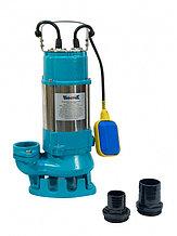 Насос фекальный Vodotok V450F, (450Вт, 200л/мин, Н-8,5м, примеси до 15 мм, d вых.отв.50мм, кабель 6м).