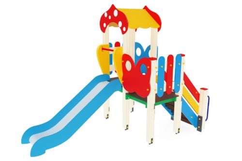 Детский игровой комплекс «Полянка» H=900