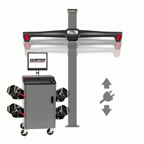 Стенд сход-развал 3D, 4-х камерный, лифтовая стойка, QuickGrip адаптеры, RAL 7040