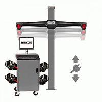 Стенд сход-развал 3D, 4-х камерный, лифтовая стойка, QuickGrip адаптеры, RAL 7040 , фото 1