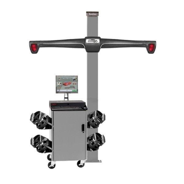 Стенд сход-развал 3D, 4-х камерный, неподвижная стойка, QuickGrip адаптеры, RAL 7040