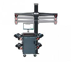 WA210VEVAGE/HE421FC9VAGE (VAS 6292 Elite) Стенд сход-развал 3D, 4-х камерный, фикс. стойка, RAL 7040