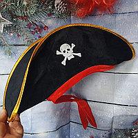 Шляпа /головной убор для костюма пирата / пиратки