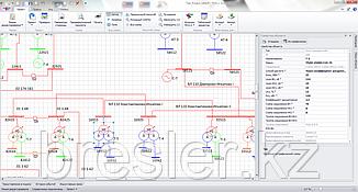 «ТКЗ++» - программа расчета аварийных режимов любой сложности сети 0,4-750 кВ
