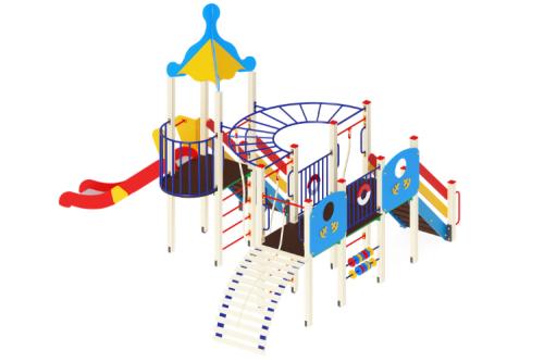 Детский игровой комплекс «Морской» H=1500