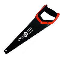 """Ножовка 450 мм """"Тефлон"""" 3D заточка 2 комп.рукоятка Вихрь"""